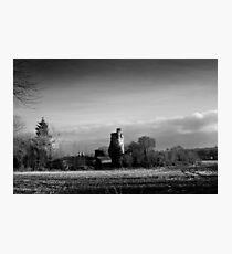 Winter Sun in Macollop Photographic Print