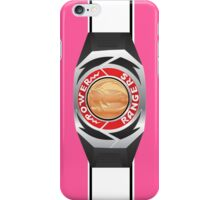 MMPR Pink Ranger Morpher/Buckle Phone Case iPhone Case/Skin