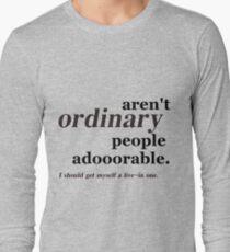 ordinary people Long Sleeve T-Shirt