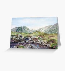 Coire Lair Wester Ross,  Greeting Card