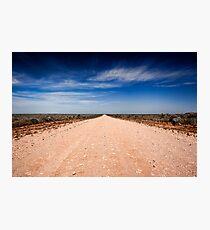 Road to Mungo - Mungo NP, NSW Photographic Print