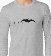 Bird on a wire expanded Long Sleeve T-Shirt