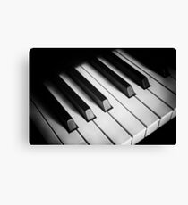 the keyboard Canvas Print