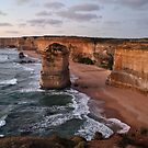 ''Sunset, the 12 Apostles'' by bowenite