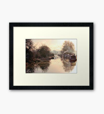 Winter Clayworth Morning Framed Print