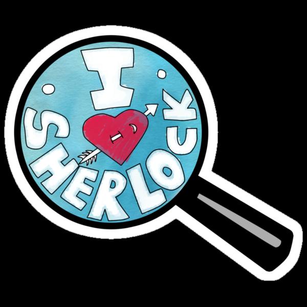 I HEART SHERLOCK by curiousfashion