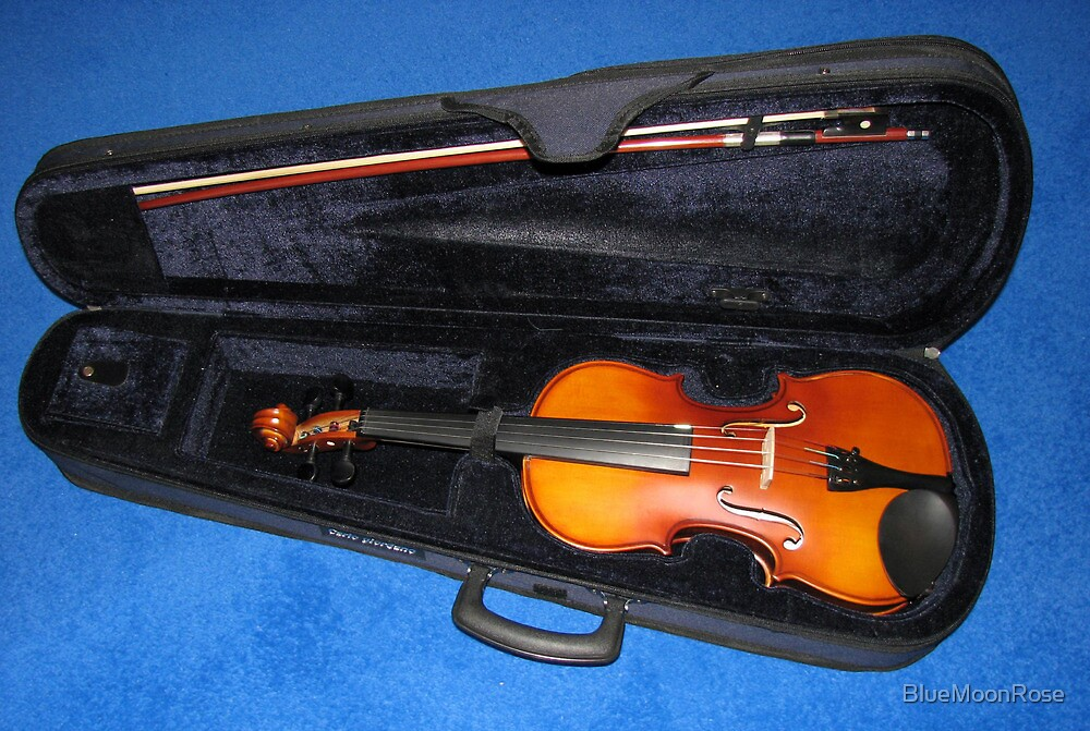 My Violin by BlueMoonRose