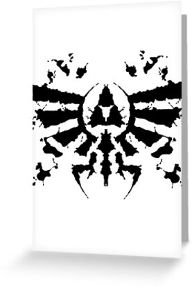 Hyrule Rorschach by MightyRain