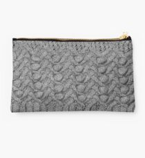 knitted ornament Studio Pouch
