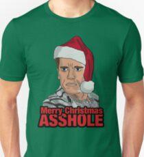 Merry Christmas, Asshole. Unisex T-Shirt