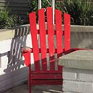 Porch chair, James Street by Mike Shell