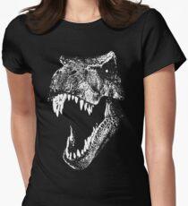 Ich bin ein Dino Fan ... Tailliertes T-Shirt
