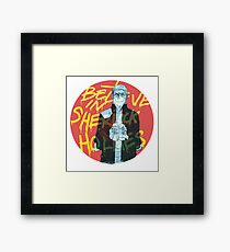 I Believe In Sherlock Framed Print