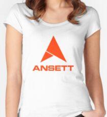 Ansett Australia - 1960's/1970's Livery Women's Fitted Scoop T-Shirt