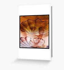 Living shells Greeting Card