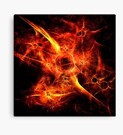 Fiery Fires Canvas Print