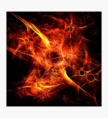 Fiery Fires Photographic Print