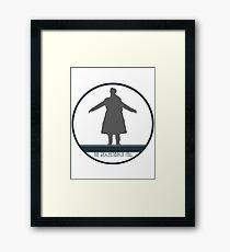 Sherlock: The Fall Framed Print