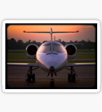 Corporate Jet Sticker