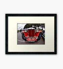 MG TC 1949 Framed Print