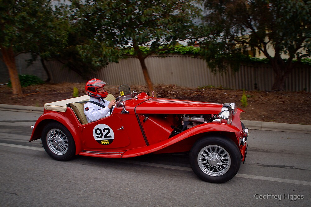 MG TC 1949 by Geoffrey Higges
