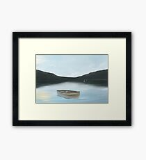 The Sky in the Sea Framed Print