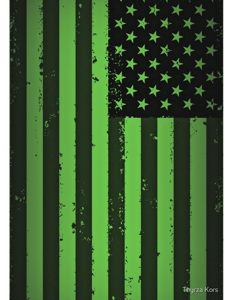 Amerikanische Idiot Flagge - Green Day von thyrza