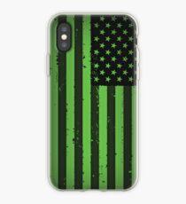 Vinilo o funda para iPhone Bandera idiota estadounidense- Green Day