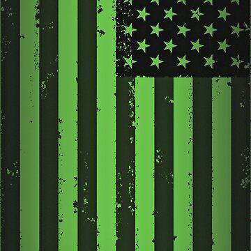American idiot flag- Green Day by thyrza