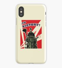 To Victory! - Cream iPhone Case