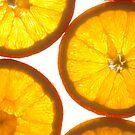 Fresh Juicy Oranges by Greg Ting