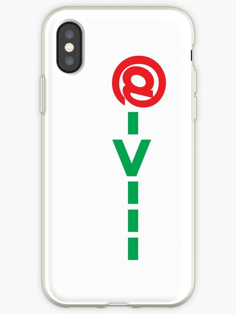 Sms Ascii Rose White Iphone Cases Covers By Lordy99 Redbubble