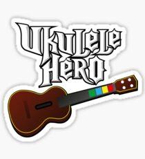 Ukulele Hero Sticker
