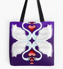 LOVE ON A POND Tote Bag