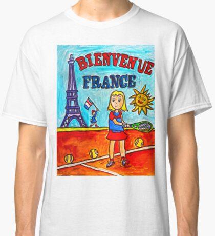 Tennis Bienvenue France Classic T-Shirt