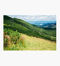 On The Way To Kasprowy Wierch Photographic Print