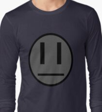 Invader Zim Dib emoticon shirt Long Sleeve T-Shirt