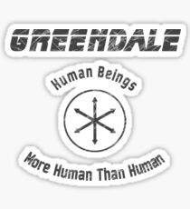 The More Human than Human Beings Sticker