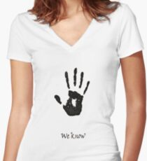 we know!!!! Women's Fitted V-Neck T-Shirt