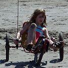Riding along the beach by Soulmaytz