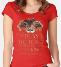 Shakespeare Hamlet Play Quote Women's Fitted Scoop T-Shirt