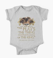 Shakespeare Hamlet Play Quote One Piece - Short Sleeve