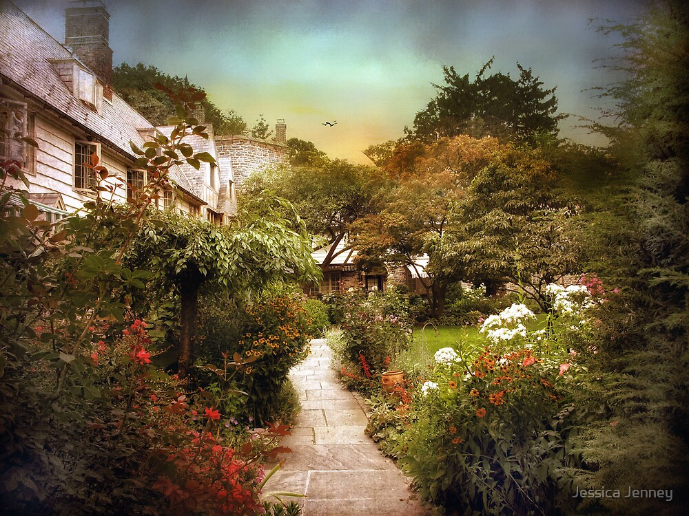 An English Garden by Jessica Jenney