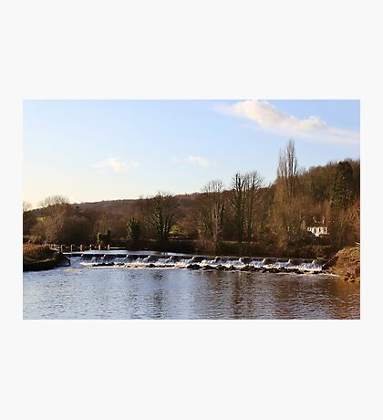 Sprotbrough Falls Photographic Print