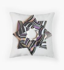 Kusudama star 2 Throw Pillow