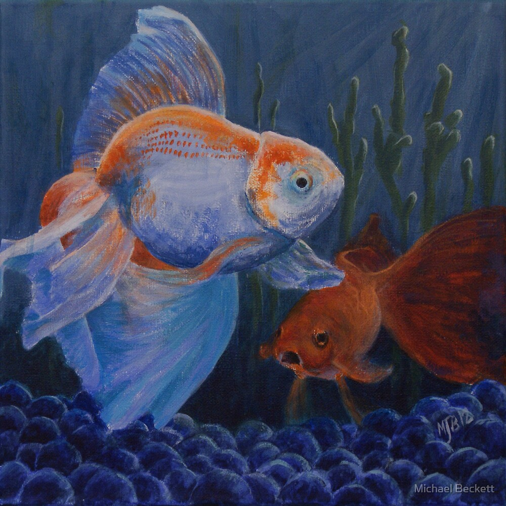 Life in a Fishbowl by Michael Beckett