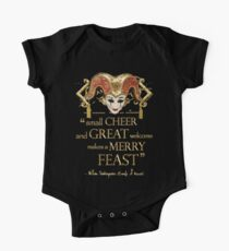 Shakespeare Comedy Of Errors Feast Quote One Piece - Short Sleeve