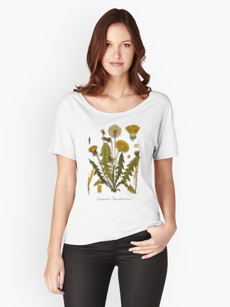 Dandelion Women's Relaxed Fit T-Shirt Front
