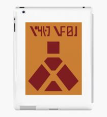 Wampa Warning iPad Case/Skin