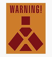 Wampa Warning - English Photographic Print
